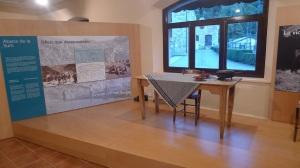 Exposició sobre la vida a la vall.