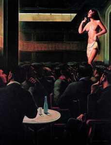Apolo Palace, 1933, Francesc Domingo.  Oli sobre tela, 144 x 114 cm. Col•lecció particular, Barcelona.