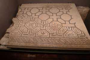 Mosaic de la domus del segle IV.