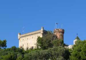 El castell de Fels.