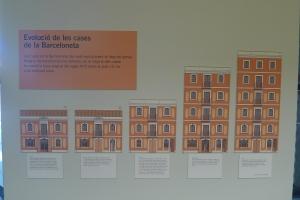 Procés de creixement de kes cases del barri.