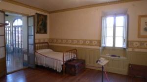 Cambra amb el llit on va morir Verdaguer.