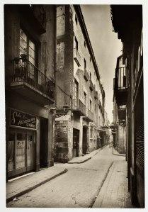 Carrer Montcada, 26/01/1957, Fons Jaume Sabartés – Fons documental del Museu Picasso, Barcelona. Fotògraf: desconegut