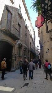 El carrer Montcada avui. Foto: Joan Àngel Frigola.