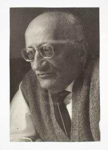 Jaume Sabartés, 1961 – Fons documental Museu Picasso Barcelona. Fotògraf desconegut