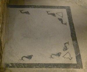 Mosaic al labrum o brollador d'aigua.