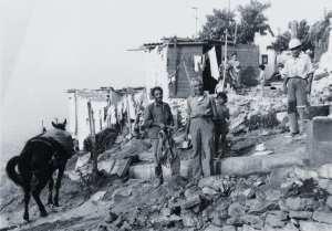 Barraques del barri dels Canons. Foto Arxiu Custòdia Moreno.
