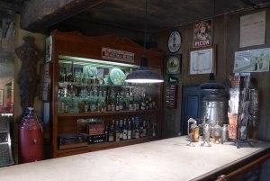 La barra del bar.