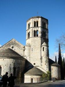 Capçalera i campanar  de Sant Pere Galligants