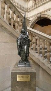 Rèplica del monument a Rafael Casanova de Rossend Nobas.