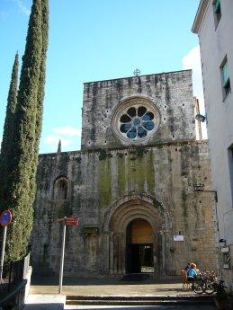 Façana de Sant Pere Galligants.