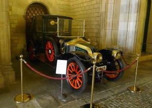 La Genoveva, un Renault  11HP de 1908.