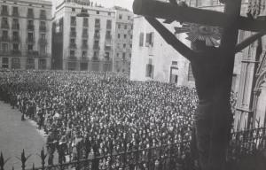 Adoració Crist de Lepant, abril1944. AFB