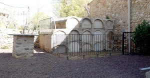 El cementiri.