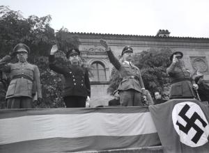 Heinrich Himmler al Poble Espanyol, 23 octubre 1940. AFB.