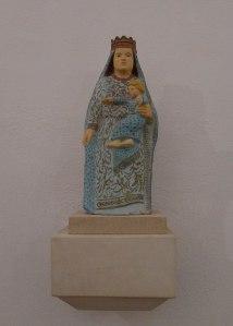 Réplica de la Mare de Déu de l'Heura, trobada cap el 1621.
