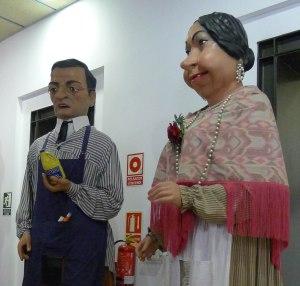 Gegants del Raval. Sr. Ramon i Lola.