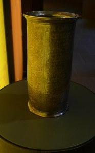 Reproducció del vas on surt el nom Semproniana.