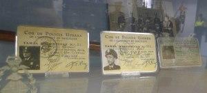 Carnets de policia municipal.