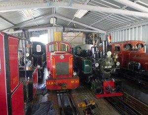 Dipòsit de locomotores.