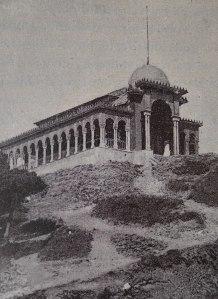 Imatge del pavelló de la reina publicada a la Geografia de Carreras Candi