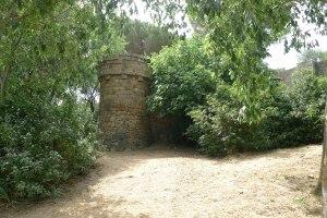 Torre del castell de l'Oreneta.