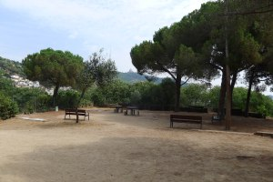Una zona de pícnic.