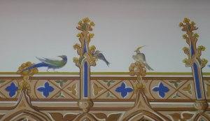 Detall de l'habitació dels ocells.