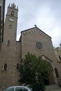 Façana de l'església.