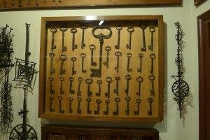 Col·lecció de claus.