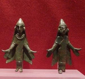Figures ibèriques de bronze. MFM.