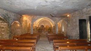 Interior de l'església de Sant Miquel.