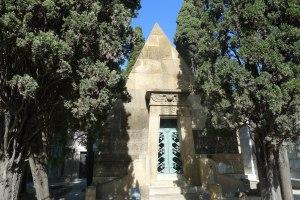 Panteó de Pilar Soler. Arquitecte Leandre Albareda.