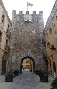 Torre-portal de Bové.