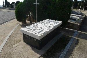 Tomba d'Ildefons Cerdà.
