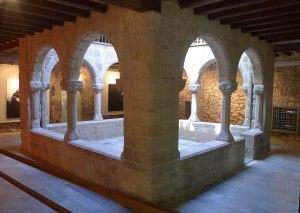Claustre del palau de l'Abadia.
