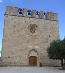 Església de Sant Martí d'Empúries.
