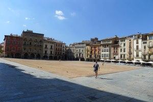 La plaça Major o Mercadal.