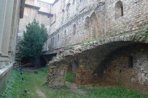 Restes del castell dels Montcada.