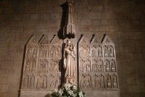 Retaule d'alabastre de Santa Maria la Blanca.
