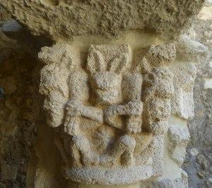 Capitell del claustre.