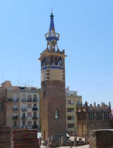 Torre amb dìpòsit d'aigua.