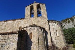 Absis i campanar de Sant Pere.