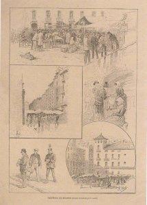 Barcelona: Los Encantes. Ilustración Ibérica. Maig 1886.
