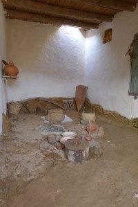 Interior de la casa simple.