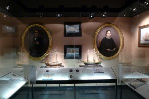 Sala dedicada a les nissagues marineres.