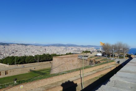 Barcelona vista des del castell.