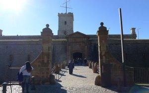 Entrada al castell.
