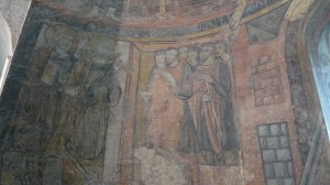 Pintura de l'absis. Sant Pere i Sant Pau.