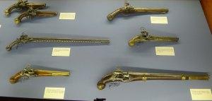 Col·lecció d'armes.